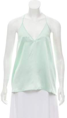 CAMI NYC The Racer Silk Top