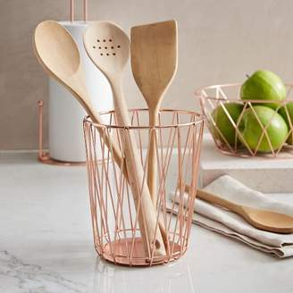 west elm Copper Wire Utensil Holder