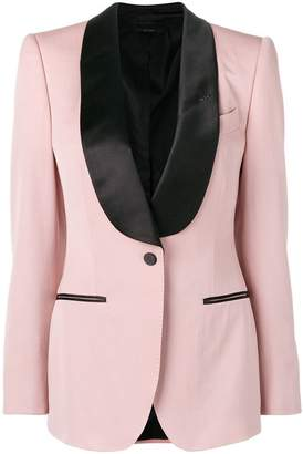Tom Ford contrast formal blazer