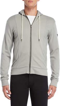 Armani Jeans Grey Slim Fit Hoodie
