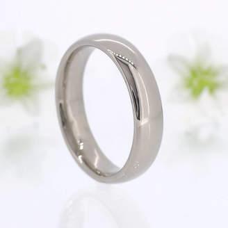 6193e056ef Lilia Nash Jewellery Men's Comfort Fit 18ct Gold Wedding Ring