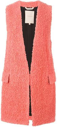 Roksanda long loop knit gilet $1,215 thestylecure.com