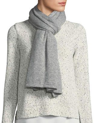 Il Borgo Heavyweight Metallic Cashmere/Silk Scarf