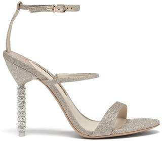 Sophia Webster Rosalind Crystal Embellished Leather Sandals - Womens - Gold
