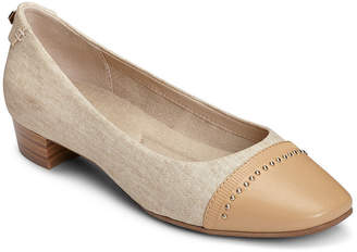 Aerosoles A2 BY A2 by Womens Make Way Pumps Slip-on Square Toe Block Heel