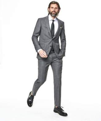 Todd Snyder White Label Sutton Stretch Tropical Wool Suit Jacket In Light Charcoal