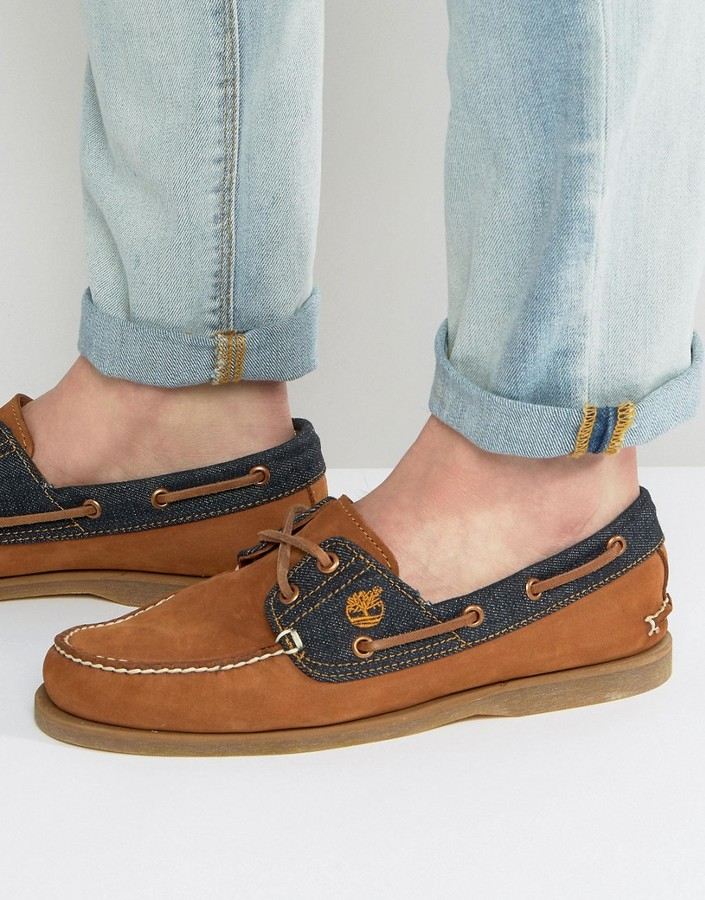 TimberlandTimberland Classic Denim Boat Shoes