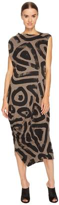 Vivienne Westwood Squires Sleeveless Printed Dress Women's Dress