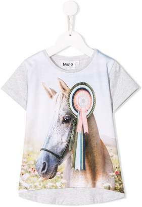 Molo Kids Snow Horse T-shirt