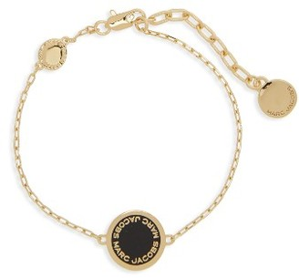 Women's Marc By Marc Jacobs Logo Bracelet $55 thestylecure.com