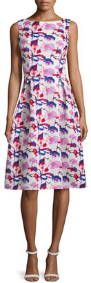 Rickie Freeman for Teri Jon Sleeveless Floral Midi Dress, Multi $360 thestylecure.com