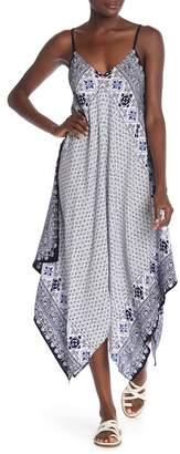 Tommy Bahama Tika Scarf Print Cover-Up Maxi Dress