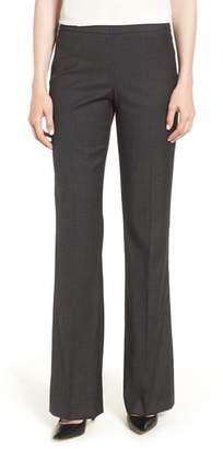 BOSS Tulea Side Zip Wool Blend Suit Trousers