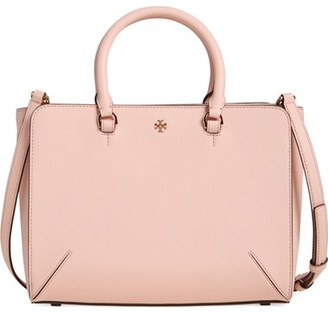 Tory Burch 'Small Robinson Zip' Leather Tote $264.65 thestylecure.com