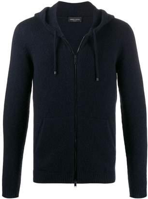 Roberto Collina slim-fit knit zip hoodie
