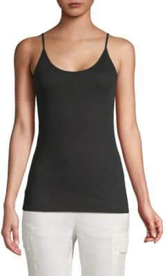 Vince Scoopneck Cotton Camisole