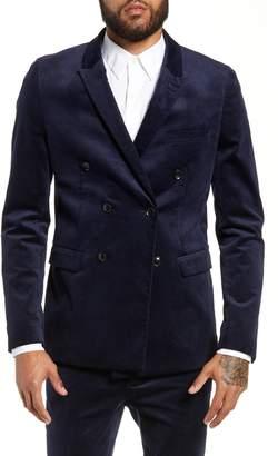 Topman Club Corduroy Suit Jacket