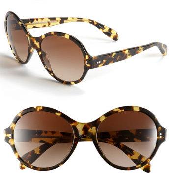 Oliver Peoples 'Lipsofire' Retro Sunglasses