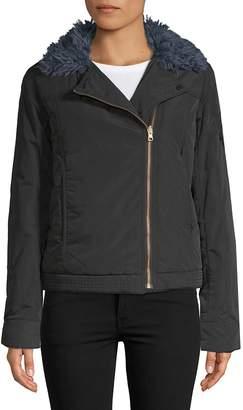 Zadig & Voltaire Women's Kerem Faux Fur-Trimmed Jacket