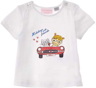 Chicco Girls' White T-Shirt