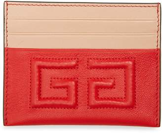 Givenchy Emblem Leather Card Case