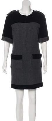 Chanel Velvet & Cashmere Dress w/ Tags