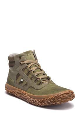 Hybrid Green Label Fearless II Leather High-Top Sneaker