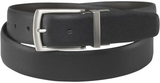 French Connection Mens Reversible Prong Belt Black/Brown