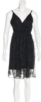 Alice + Olivia Lace Sleeveless Dress