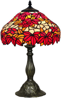 Tiffany & Co. Forest One Light Table Lamp in Red