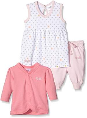 Twins Baby Girls Clothing Set - Multicoloured - 3-6 Months