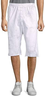 Drifter Men's Buttoned Cotton Pull-On Shorts