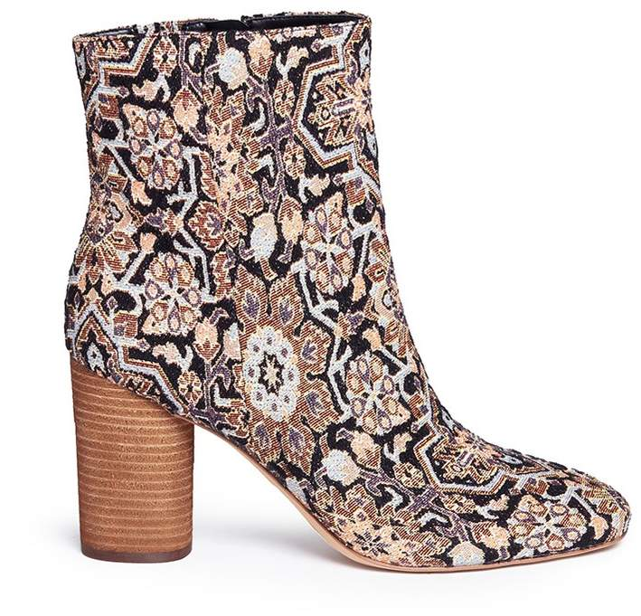 Sam Edelman 'Corra' cylindrical heel tapestry boots