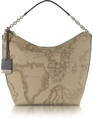 "Alviero Martini 1a Prima Classe - Geo Printed Medium ""Contemporary"" Shoulder Bag"