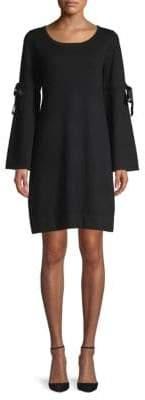 Max Studio Bell Sleeve Sweater Dress