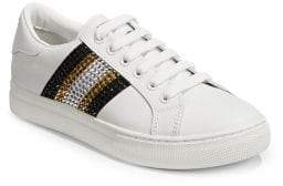 Marc Jacobs Bedazzled Stripe Empire Sneakers