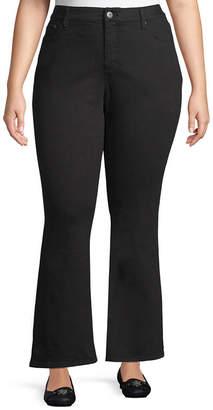 ST. JOHN'S BAY Secretly Slender Bootcut Jeans-Plus