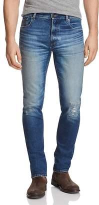 Belstaff Westering Slim Fit Jeans in Faded Blue