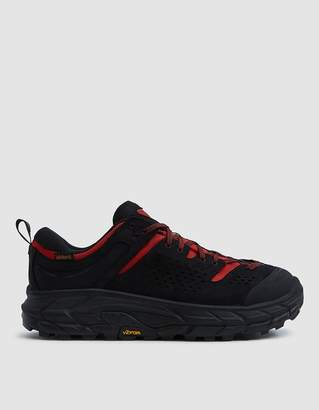 Engineered Garments EG x Hoka TOR Ultra Low Sneaker in Black/Racing Red
