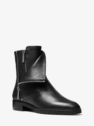 MICHAEL Michael Kors Andi Leather Ankle Boot