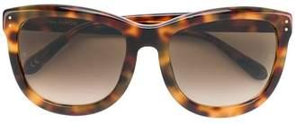 Linda Farrow tortoiseshell oversized sunglasses