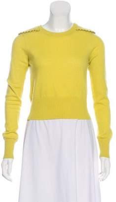 Diane von Furstenberg Cashmere Cropped Sweater
