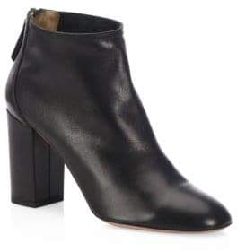 Aquazzura Downtown Leather Booties
