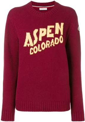 Moncler Aspen cashmere and wool sweater
