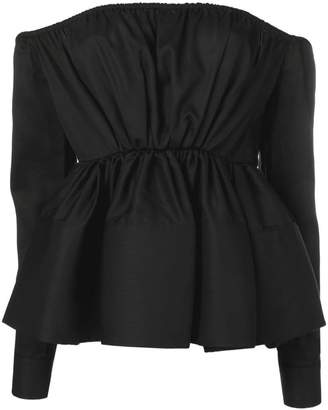 Marques Almeida Marques'Almeida off-the-shoulder blouse