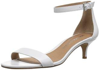 Amazon Brand - 206 Collective Women's Eve Stiletto Heel Dress Sandal-Low Heeled
