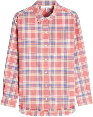 Frame True Plaid Shirt