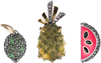 Alexis Bittar Fruit Pin Set