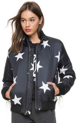 Juicy Couture Star Print Puffer Jacket