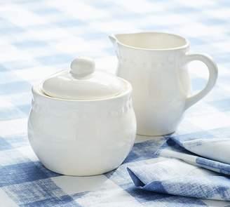 Pottery Barn Creamer, White